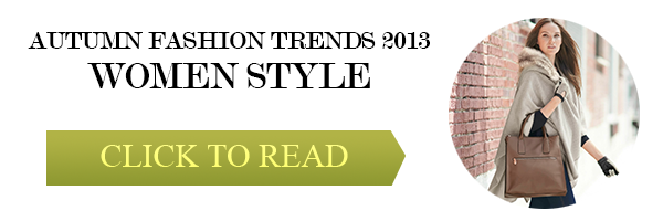 autumn fashion trends 2013