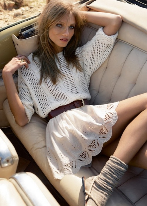 white summer dresses for women 2013