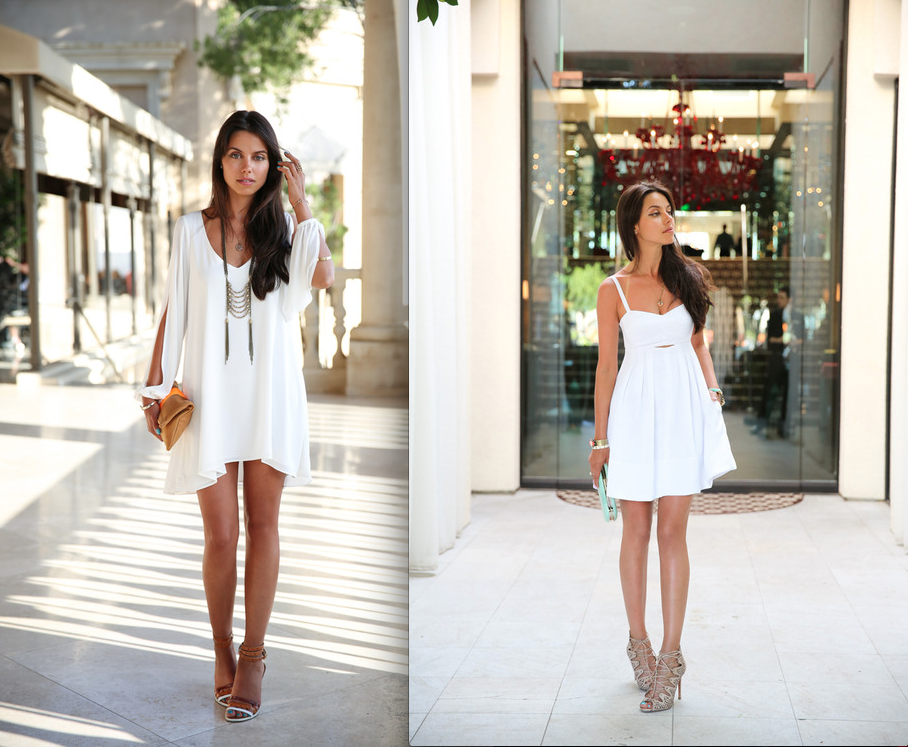 White Summer Dresses For Women 2013 - Alux.com