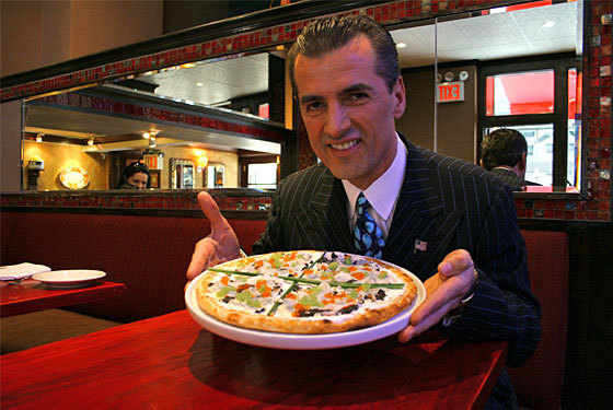 One Of The Worlds Most Expensive Pizzas: NINO SELIMAJ'S $1000 PIZZA