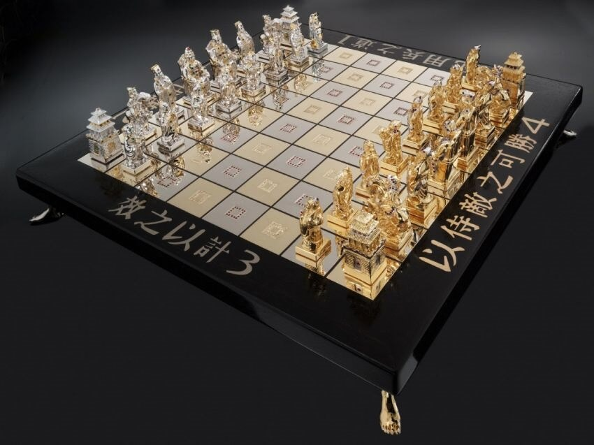 Most Expensive Chess Set in the World - EALUXE.COM | Art of War Chess Set