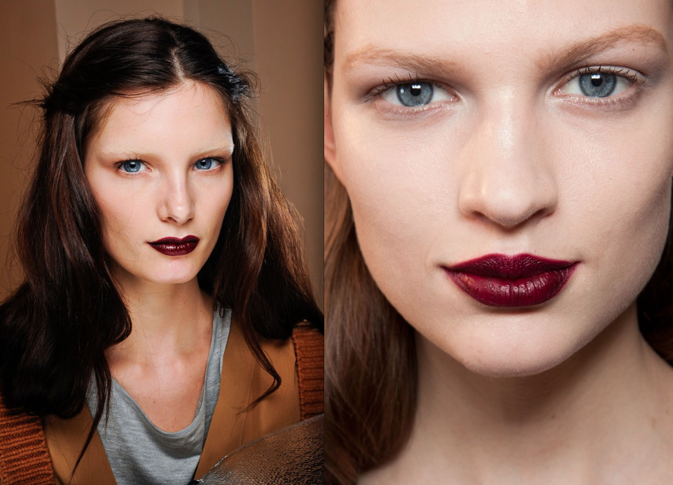 plum lips Make Up Trends Fall Winter 2013
