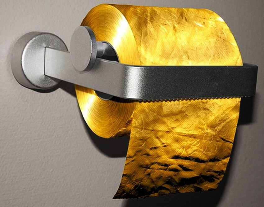 Most Expensive Toilet Paper in the World via galleryhip.com