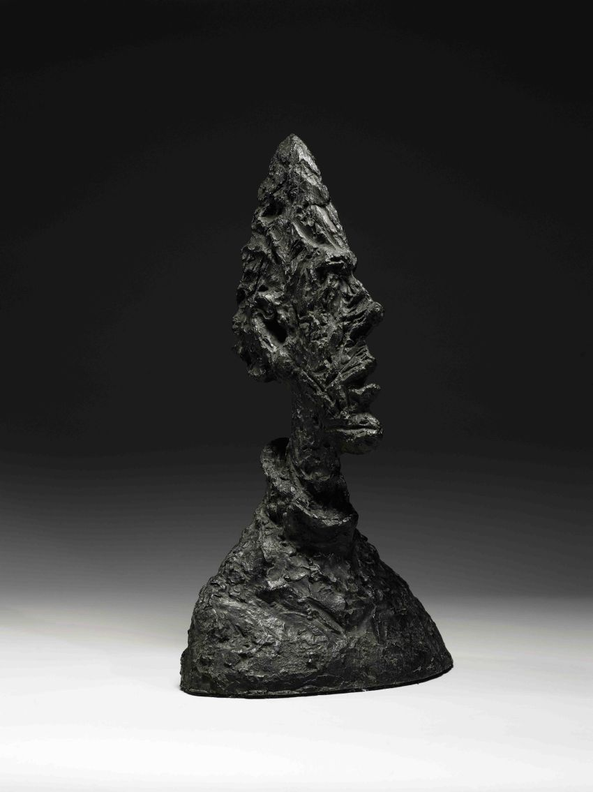 Top 5 Most Expensive Sculptures in the World - EALUXE | Alberto Giacometti 'Grand Tete Mince'