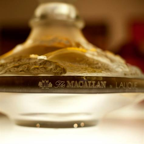 expensive most 64 macallan rich gift whisky drinks bottle ten lalique decanter