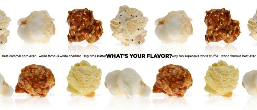 Most Expensive Popcorn in the World | Luckily, you have 3 assortments which you can choose from. What's Your Flavor?