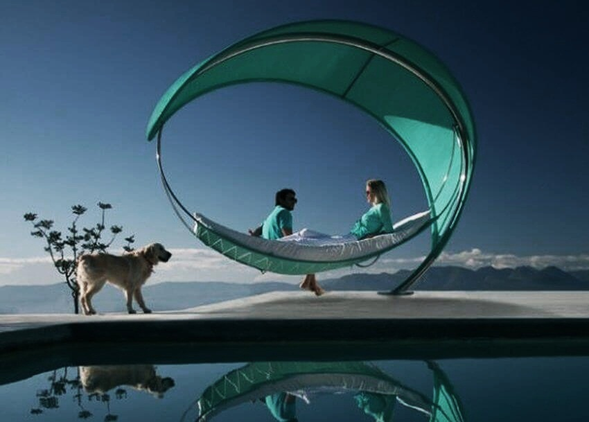 Most Expensive Hammock in the World | The Petiole is the ideal accompaniment for couples who are on a holiday.