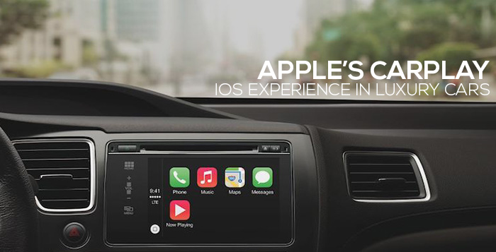 apple produces carplay for ios experience in luxury cars. Black Bedroom Furniture Sets. Home Design Ideas