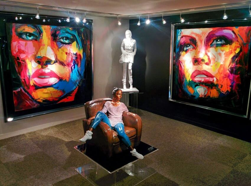 Most Colorful Portraits By Francoise Nielly Ealuxe Com