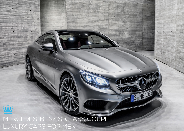 Luxury cars for men top 5 for Mercedes benz luxury car