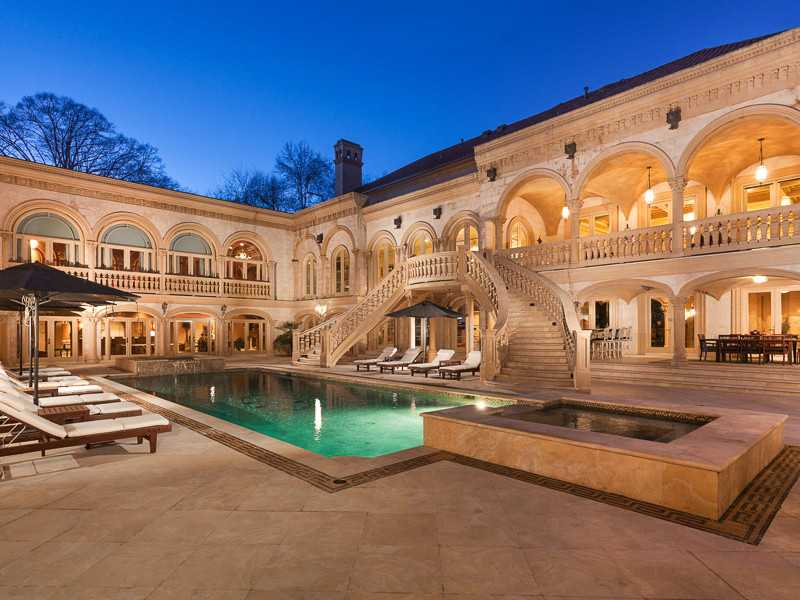 Most expensive home in atlanta for The most luxurious homes in the world