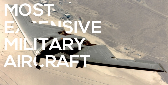 Most expensive military aircraft top 6 for The most expensive airplane