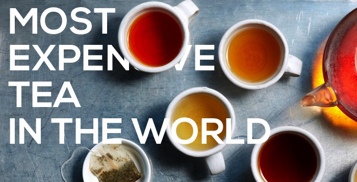 Most Expensive Tea In The World Top 5 Alux Com