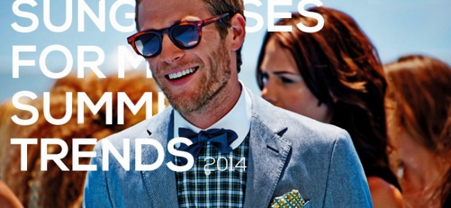 Top 5 Sunglasses for Men Summer Trends 2016