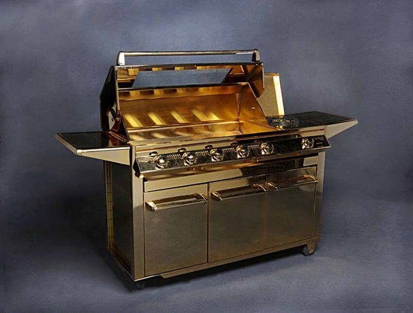 Beefeater gold plated barbeque grill price