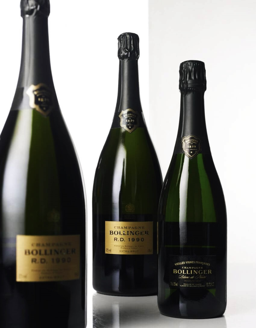 Top 10 Most Expensive Champagnes - EALUXE.COM | Bollinger Blanc De Noirs Vieilles Vignes Francaises Champagne is considered to be the 'Super Rich Wine'.