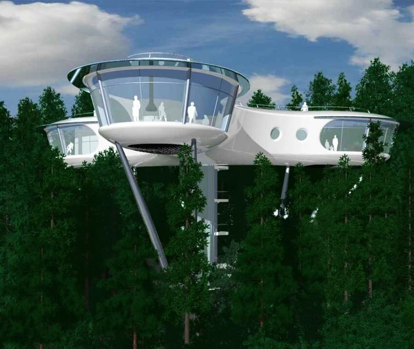 Most Expensive Tree Houses In The World EALUXE Modular Tree House