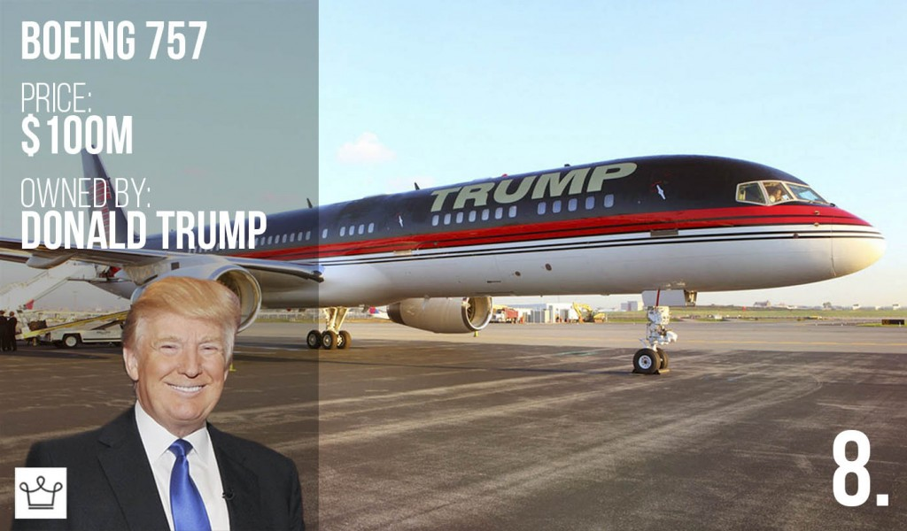 Donald Trump's Jet is one of the Most Expensive Private Jets in the World
