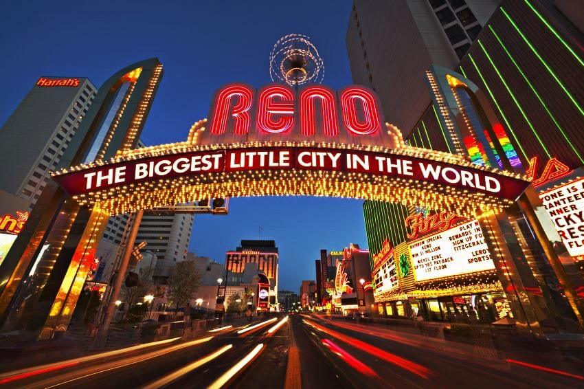 Five of the Top Gambling Cities in the U.S