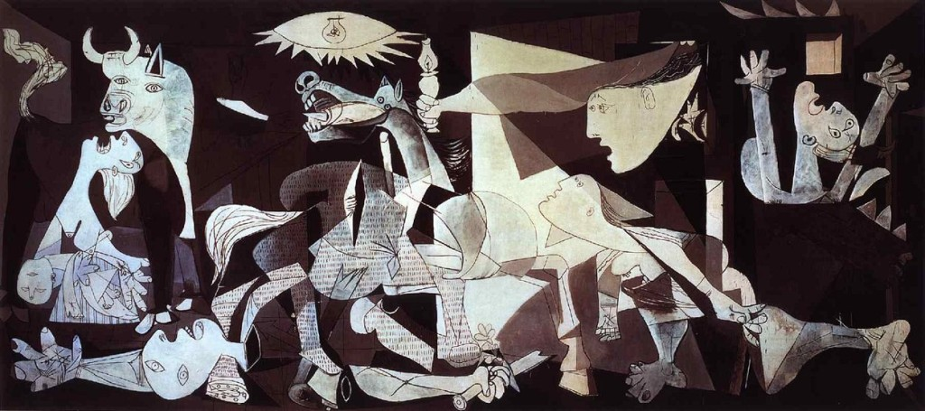 Ten Most Famous Paintings in the World | N10 Guernica by Pablo Picasso
