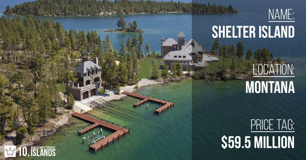 most expensive islands in the world 2016 alux 10 shelter island montana