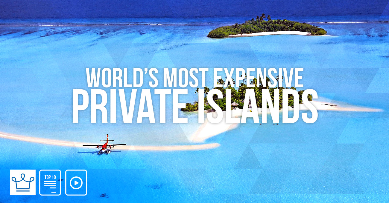 Most Expensive Islands In The World 2017: small islands around the world