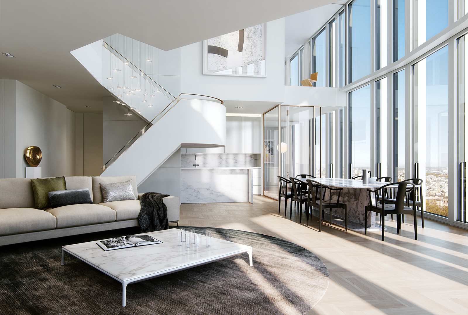 Amazing Kitchen Islands Most Expensive Penthouses In The World Top 10 Page 5