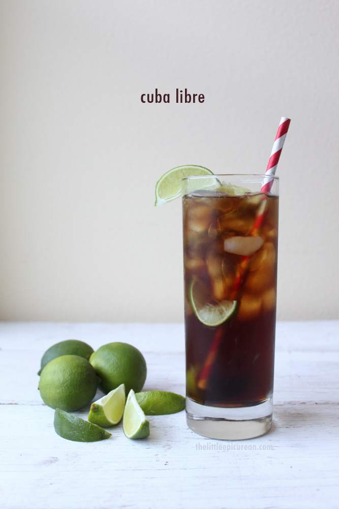 Along with the Mojito and the Daiquiri, the Cuba Libre shares the ...