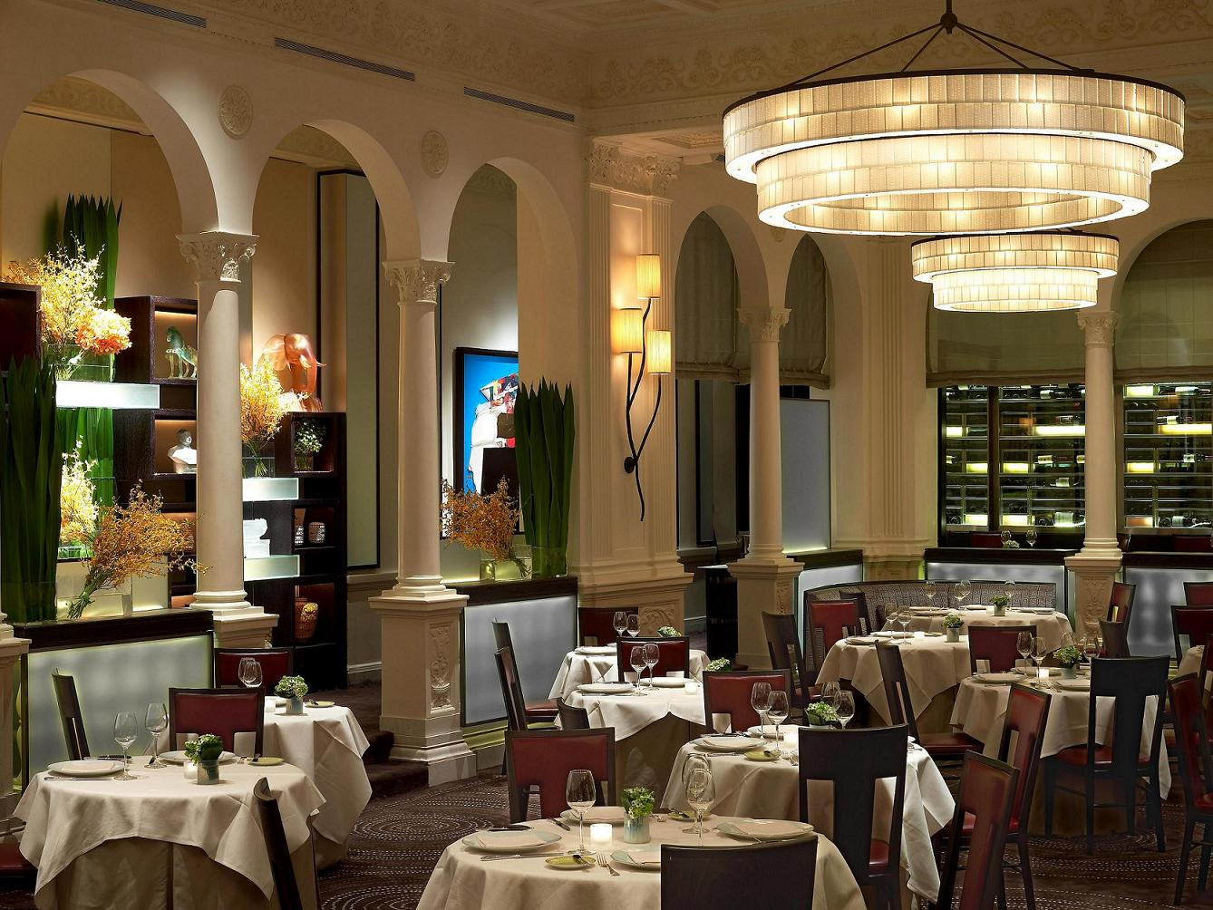 The best restaurants in new york city for Best private dining rooms new york city