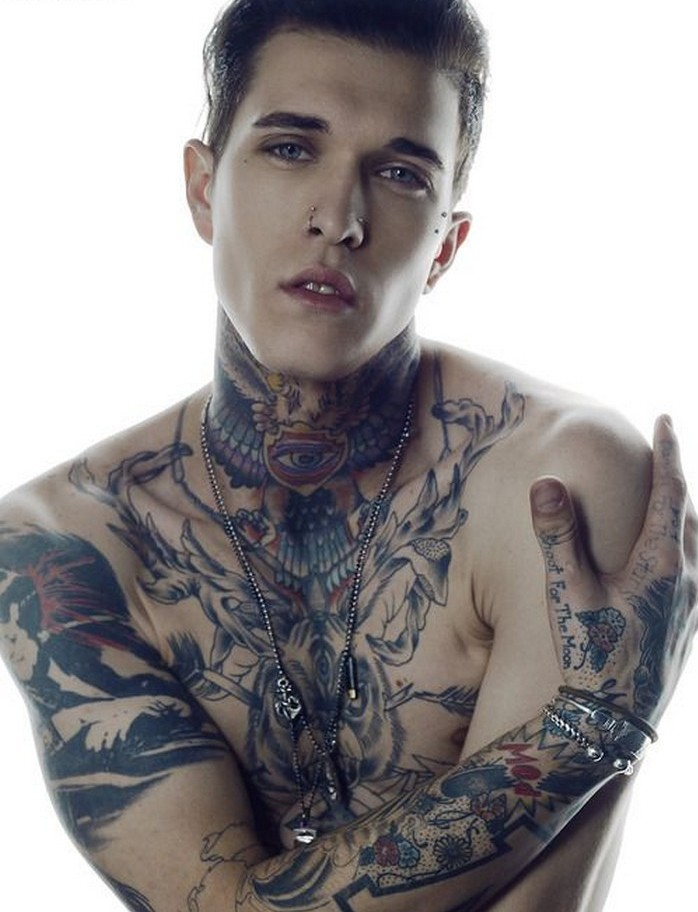 hottest tattooed male models page 3 of 10