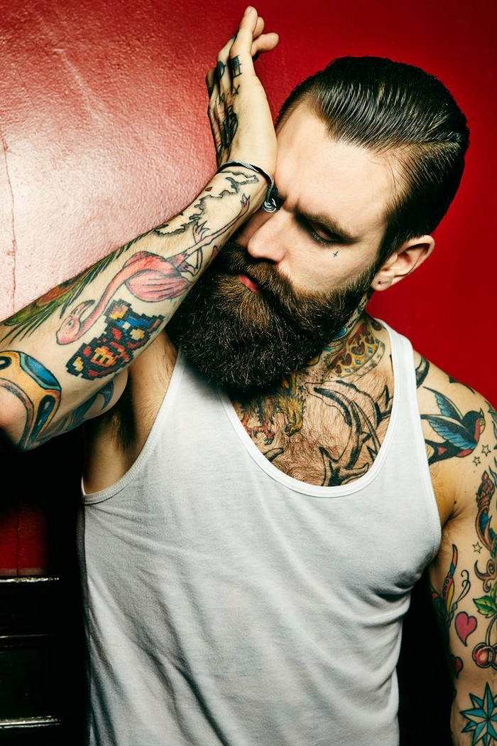 Hottest tattooed male models page 8 of 10 for Hottest tattoos for guys