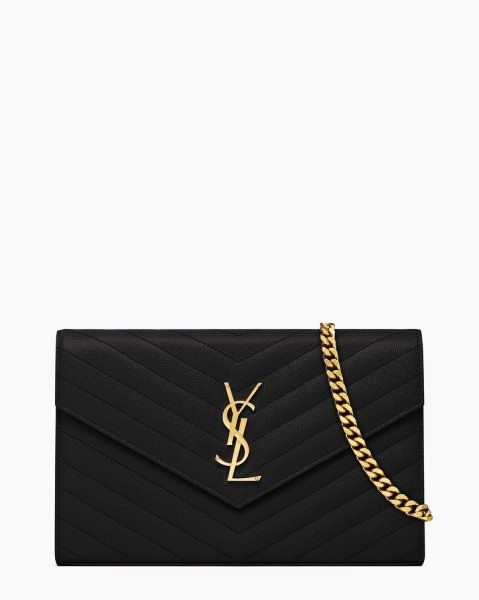 ysl leather bag - 7 Yves Saint Laurent Monogram SL Chain Wallet - Price $1.490 Most ...