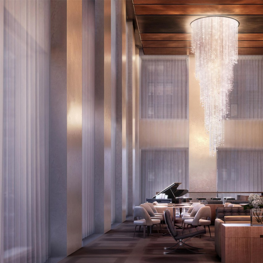 New York Apartments Outside: Inside The $95 Million 432 Park Avenue NYC Apartment