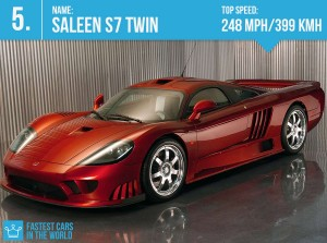 fastest cars in the world 2016 Saleen s7 Twin top speed