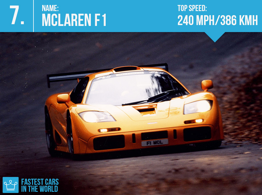 fastest cars in the world 2016 mclaren f1 top speed specs alux