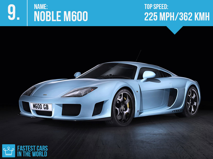 fastest cars in the world 2017 noble m600 top speed price specs alux