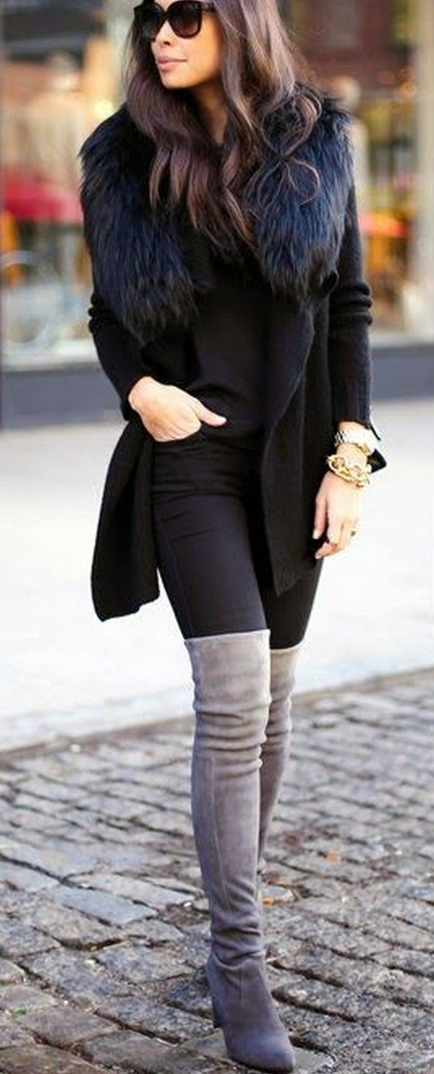 How To Wear Over The Knee Boots 10 Steps Alux Com