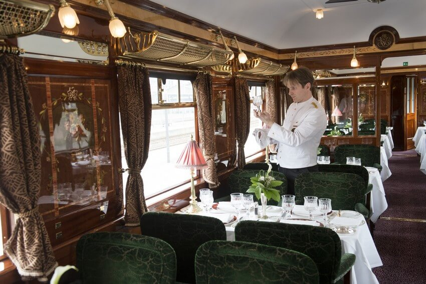 luxury travel the orient express train ride. Black Bedroom Furniture Sets. Home Design Ideas