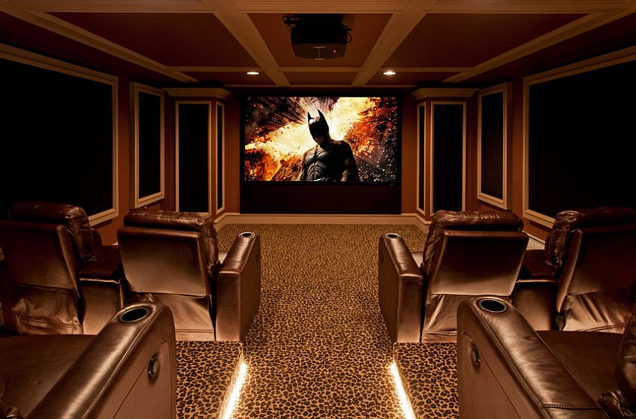 amazing basement home theater design ideas for a modern home