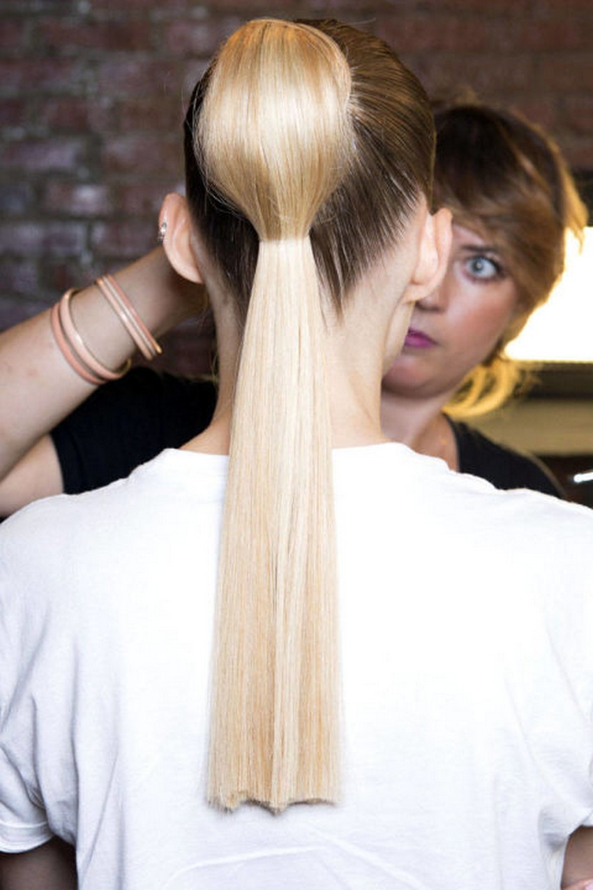 long ponytails hottest hair trends for spring 2015 image source