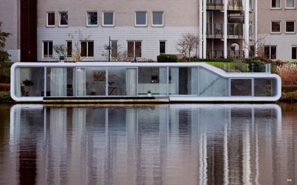 10 incredibly amazing houseboats you dream of owning for Houseboat amsterdam