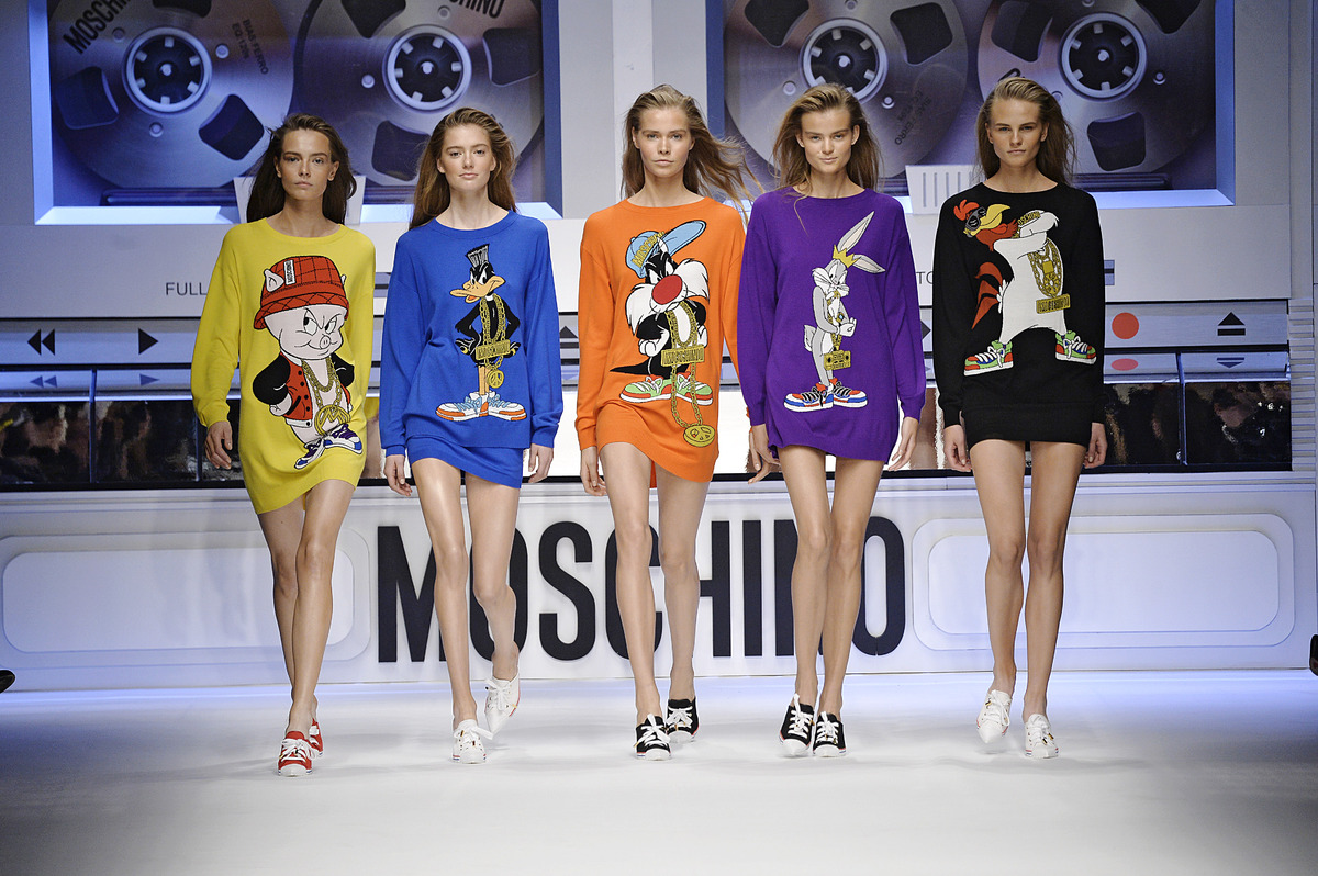 Moschino Looney Tunes Inspired Line Brings Back The S on cartoon money education