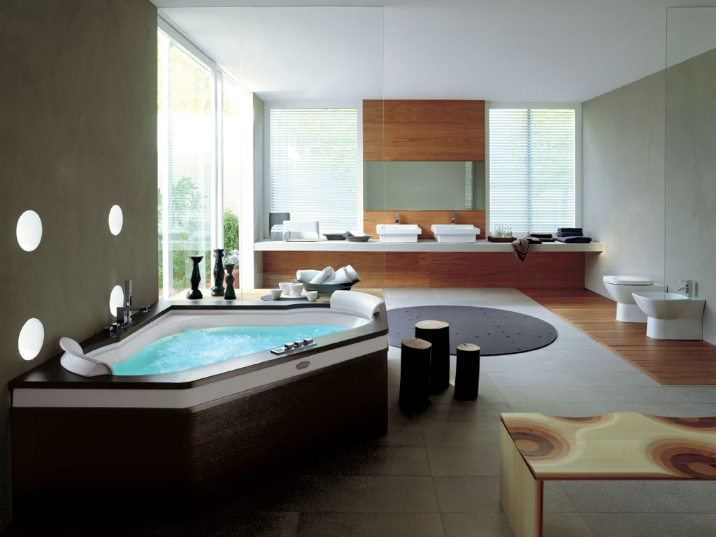 15 luxury bathroom pictures to inspire you - Jacuzzi para interior ...