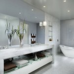 15 Luxurious Bathrooms With the Right Alux Vibe
