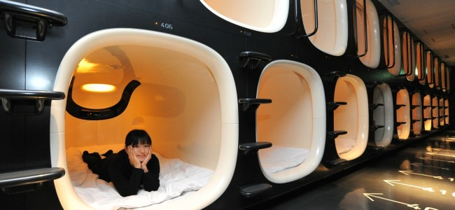 This Capsule Hotel in Kyoto is Straight out of a SciFi Movie