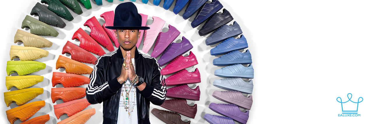 Fifty Shades of adidas Originals by Pharrell Williams