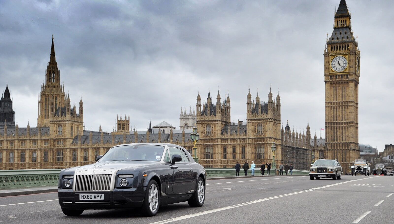 Luxury Car Rental With Driver London