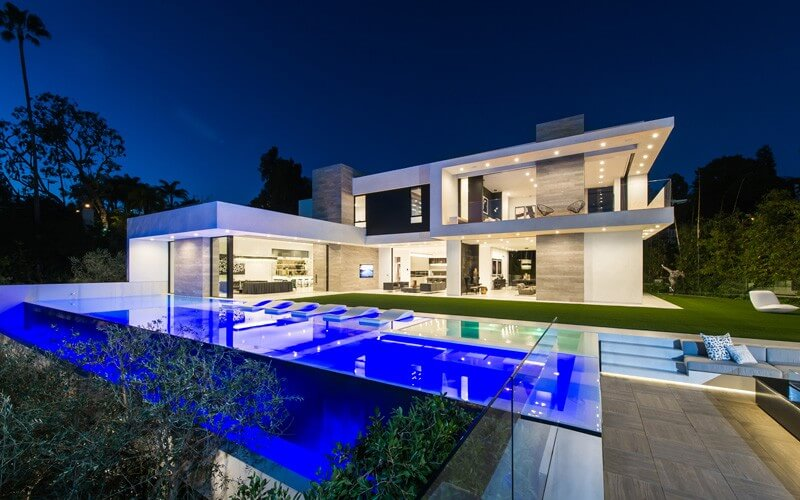 Bon A Beverly Hills Contemporary Home Shows Us How Luxury Can Be Implemented