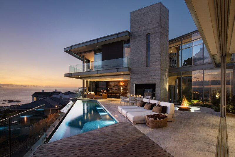this family home from cape town is a luxury home that offers mesmerizing 270 views