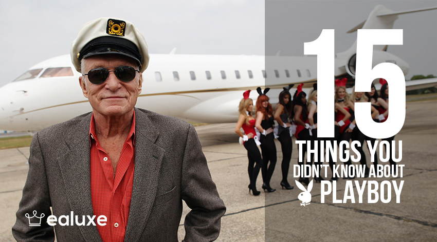 Things I Know About You: 15 Things You Didn't Know About Playboy